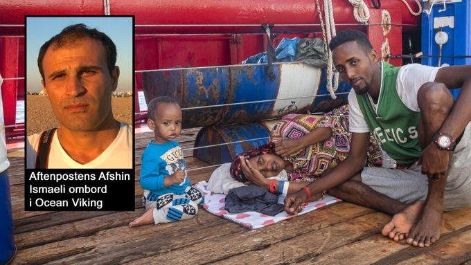 Masud og foreldrene drømte om Skandinavia. De endte i leirer i Libya. Der ble ettåringen slått.
