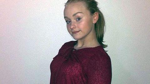 FUNNET DØD: Familien begynte å lete etter 13-åringen da hun ikke kom hjem som avtalt søndag kveld.