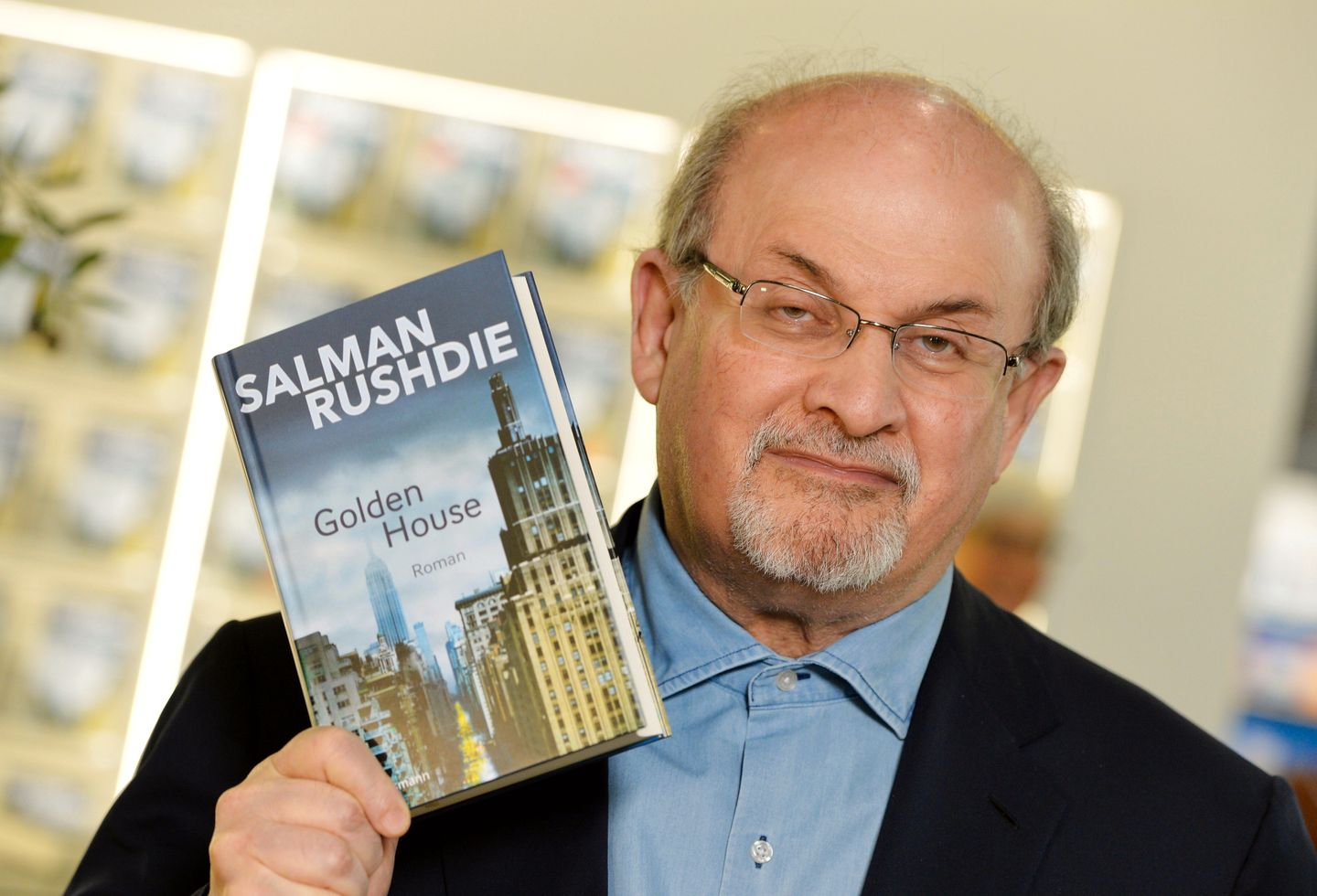 salman rushdie s the courter The next morning, in the south of the planet, far away from senior's home town, but not far enough  salman rushdie has written twelve novels.