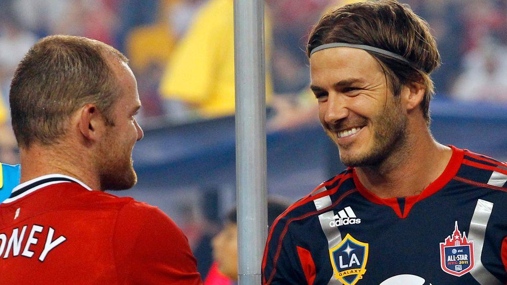 Beckham og Rooney hedret terrorofrene Stavanger Aftenblad