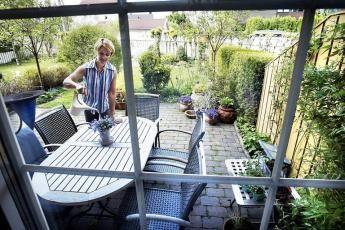 Se på hagen som et rom!   aftenposten