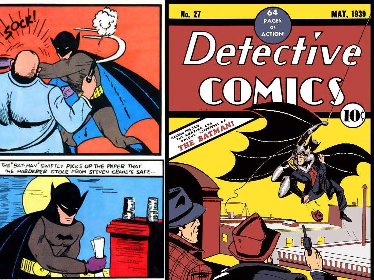 Hvordan bli Batman bok