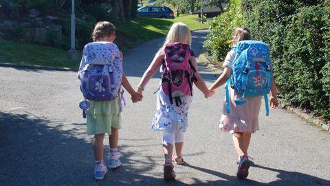 EVIGHETER SIDEN: I august 2012 tasset seksåringene inn på skolen for første gang. Neste uke slentrer ungvoksne 13-åringer ut av barneskolen for aller siste gang.