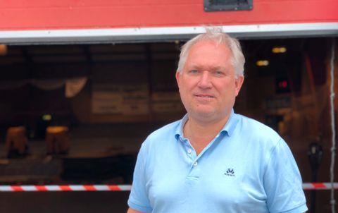 STYREMEDLEM: – Etter møtet på tirsdag vet vi mer om hvor skadet bygget er, sier Knut Waage.