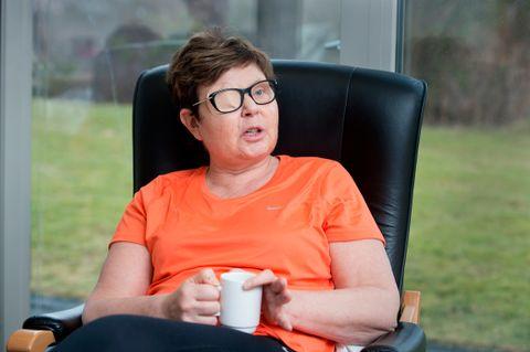 SYK: Anne Gine Hestetun fikk brystkreft i 2011. Etter det hun trodde var en vellykket cellegiftkur, kom tilbakefallet to år senere med spredning til lillehjernen.