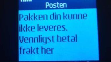 b9935132 Postnord advarer mot SMS-svindel