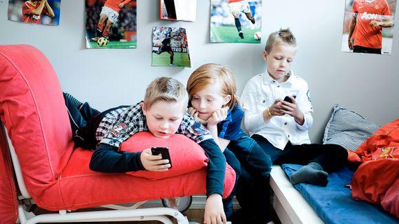 7581d44a Derfor «må» barna ha mobiltelefon - Aftenposten