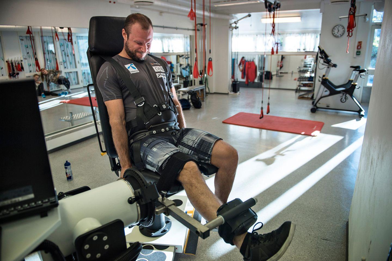 9762f6b0 Toppidrettssenteret i november: Aksel Lund Svindals opererte bein skal  testes. Resultatet overrasker de aller fleste. Svindal er sterkere enn på  mange år.