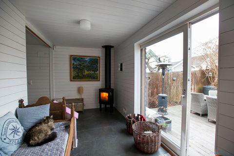 To hus i ett: Bygde 60 kvadratmeter tilbygg - Aftenbladet.no