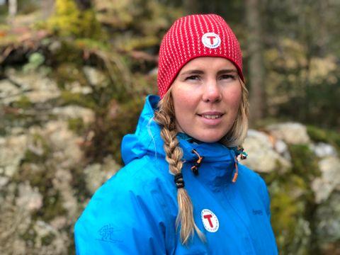 TURLEDER: Sigrid Kvåle Myksvoll jobber i Bergen og Hordaland turlag. Hun viser BT Junior flere steder det er mulig å drive med friluftsliv i Bergen og områdene i nærheten!