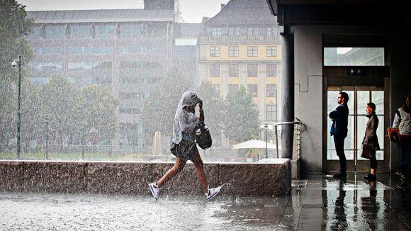 740be2ae Regn på valgdagen kan avgjøre valget - Aftenposten