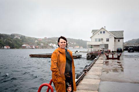 Like etter at luftambulansen hadde hentet Inger-Lise Nord Waage, kunne sønnen gjenkjenne henne i en Snapchat-film fra redningsaksjonen.