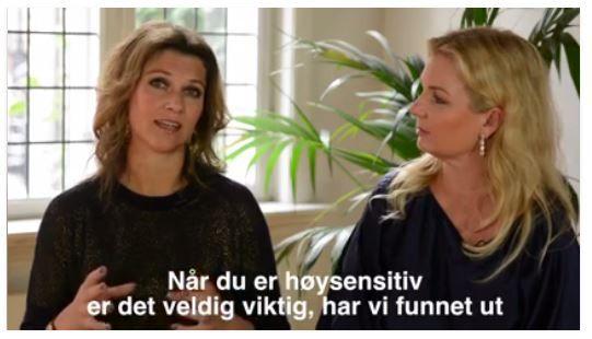 3a3b8e725 Å være født sensitiv er ingen diagnose, prinsesse Märtha og ...