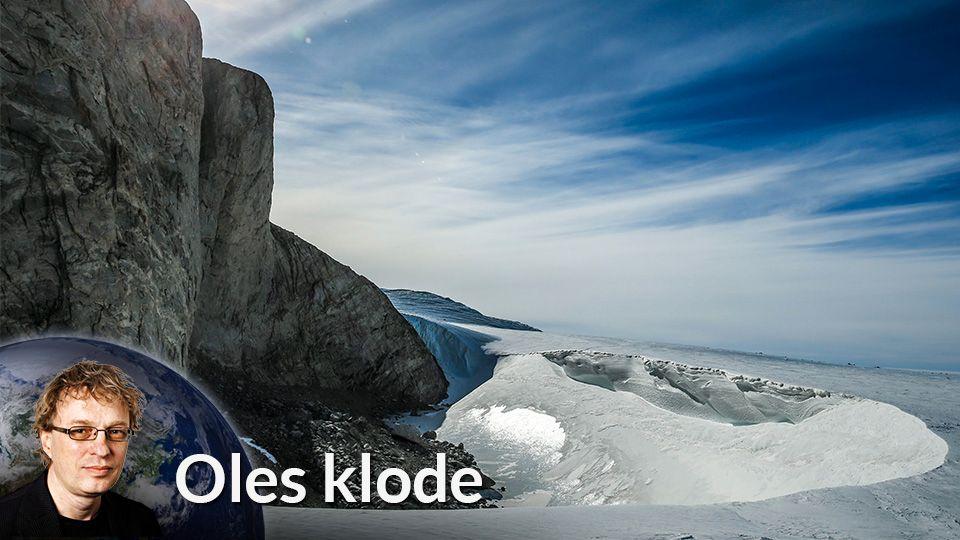 Hva i huleste skjer i Antarktis?