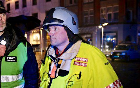 BRANNMANN: Frode Bødtker er nestkommanderende til brannsjefen i Bergen.