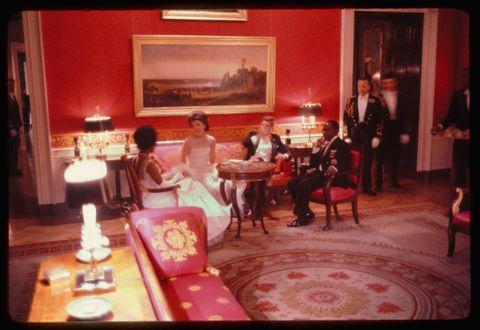 SKUTT: Nøyaktig seks måneder etter at dette bildet ble tatt, ble president Kennedy skutt.