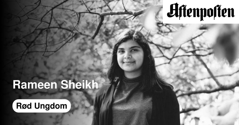 Det er ubegripelig å si at kvinnekampen må være politisk nøytral | Rameen N. Sheikh - Aftenposten