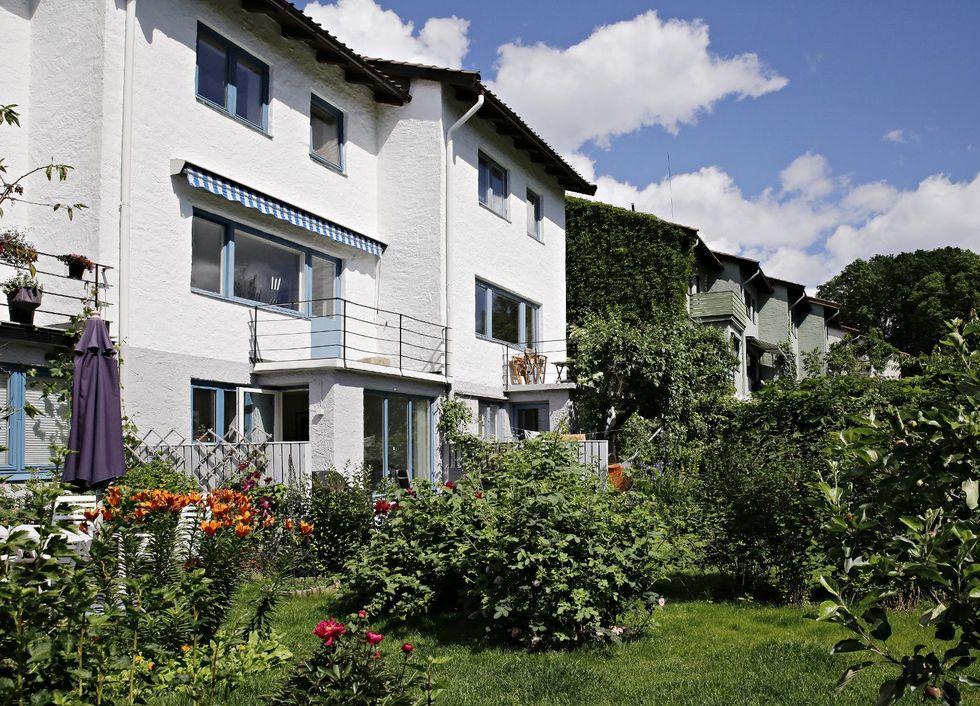 Akersborg terrasse: glemt arkitekt bak gjemt rekkehusrikdom ...