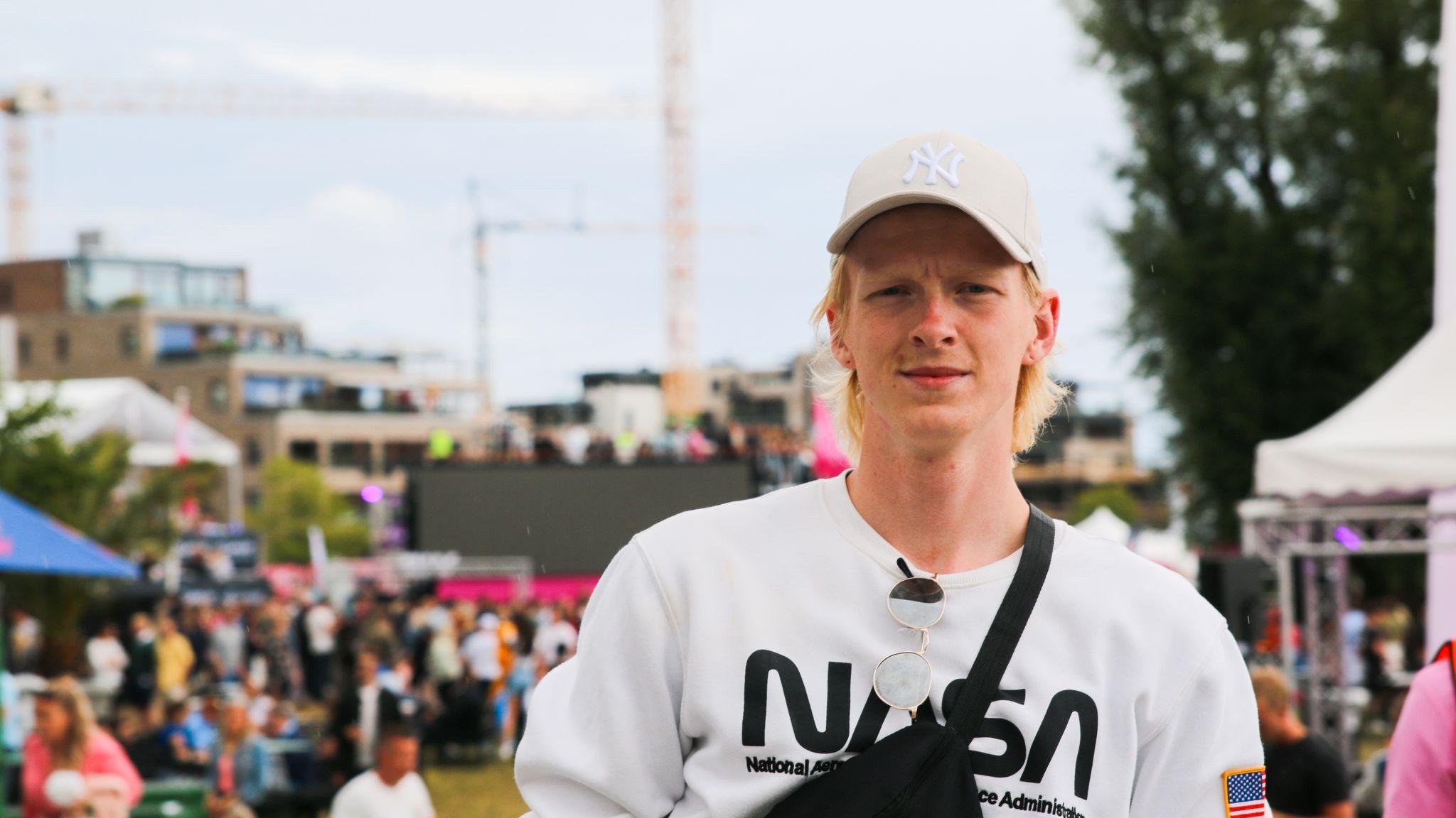 eefa3de5 Thomas Findal Andersen (21) fra Kristiansand er redd for å gjøre dumme ting  i fylla. Elina Hjønnevåg