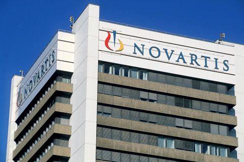 NOVARTIS: Selger den kostbare Lucentis-medisinen i hele verden, bortsett fra USA. Her fra hovedkontoret i Sveits.
