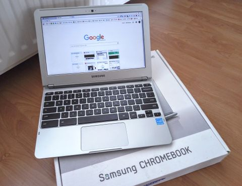 «CHROMEBOOK»: Det er ulike data-merker som lager Chromebooks, slik som Acer og Samsung.