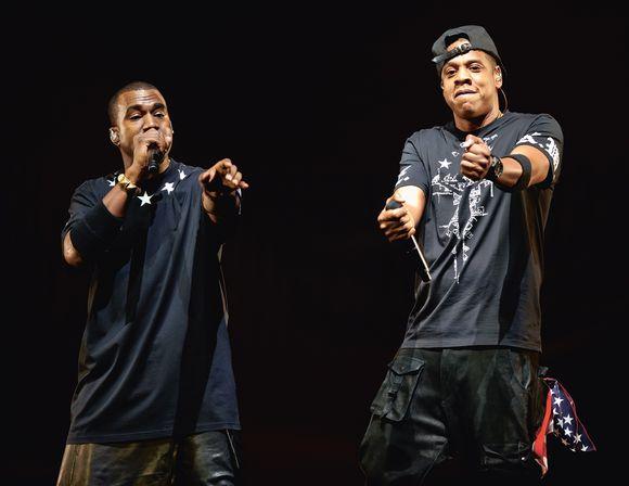 c57ea568 Jay Z og Kanye er to av musikkbransjens mektigste og har samarbeidet tett –  noe som har vært viktig for begge.