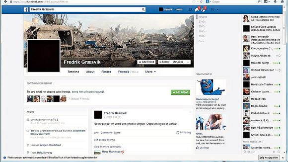 a4e9fc22bde I dag går Facebook i svart - Aftenposten