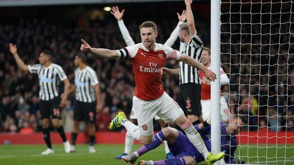 05844c14 DIREKTE: Arsenal slo Newcastle - opp på tredjeplass. Følg Premier League-oppgjøret  ...