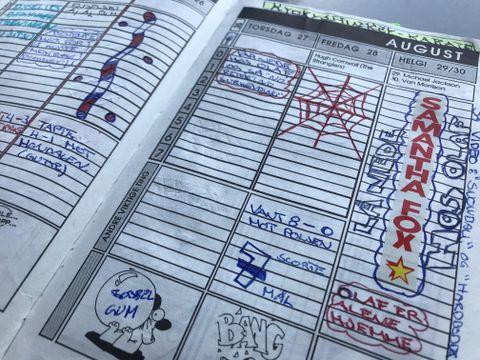 OPPSUMMERT: Noen av de viktigste tingene i livet havnet i skoledagbøkene.