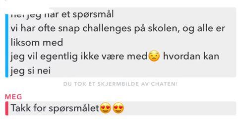 SPØRSMÅL: