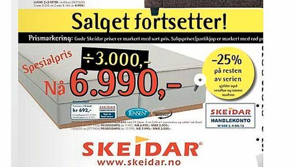 Glimrende Villedende salg - Aftenposten ZM-67