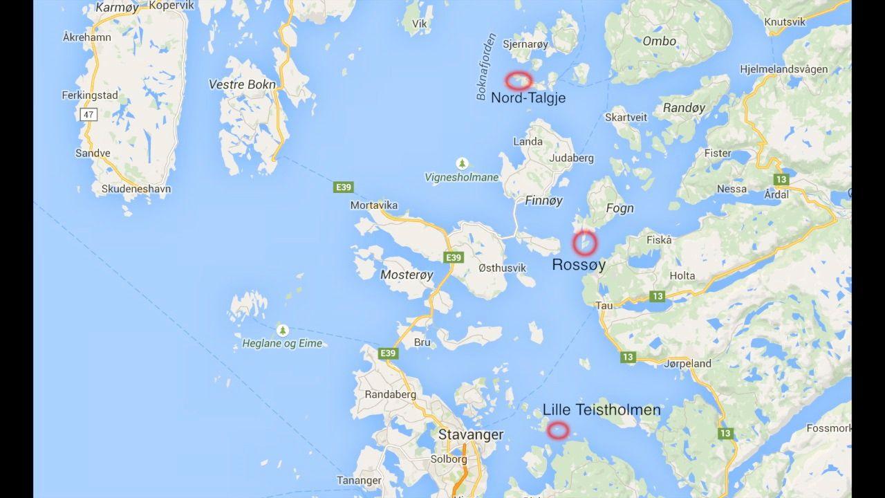 kart over finnøy Flotte sommerhavner i Ryfylke   Aftenbladet.no kart over finnøy