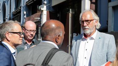 Grimstad trakk seg fra Venstres valgkomité på grunn av Raja-rykter