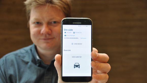 omregistrering av bil på nett