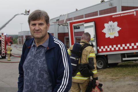 MYE ER ØDELAGT: – Det er en veldig kjedelig situasjon, mye i bygget er dessverre ødelagt, sier Benny Danielsson, styremedlem i Framostiftelsen.