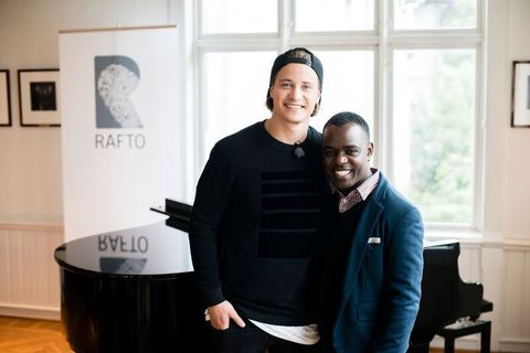 STØTTESPILLER: Kyrre Gørvell-Dahll (Kygo) gir støtte til homokampen. Han ble ambassadør for Raftostiftelsen for to år siden og støttespiller for Frank Mugisha og Sexual Minorities Uganda (Smug).