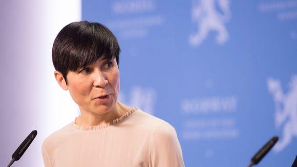 c1db7a47 Blir hun Norges første kvinnelige utenriksminister? - Aftenposten