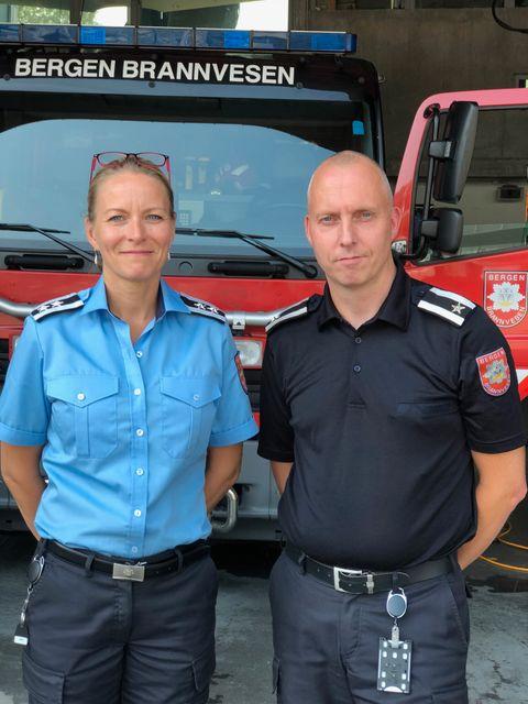 – Bytt gjerne ut grillpølsen med en is, råder Janicke Larsen i Bergen Brannvesen.