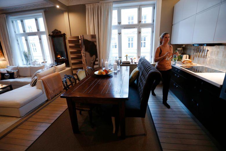 Karina florentz forvandlet leiligheten til et luksuriøst hjem som ...