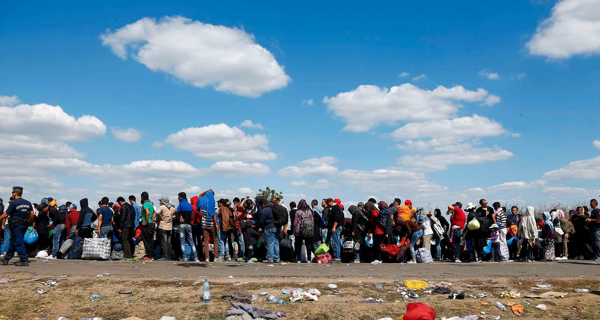 Teltleir for tre millioner mennesker står tom i landet som