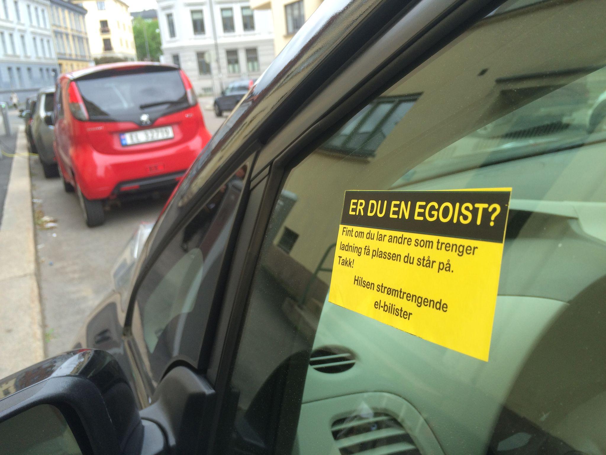 Oslo kommune innfører betaling for lading på oppfordring fra