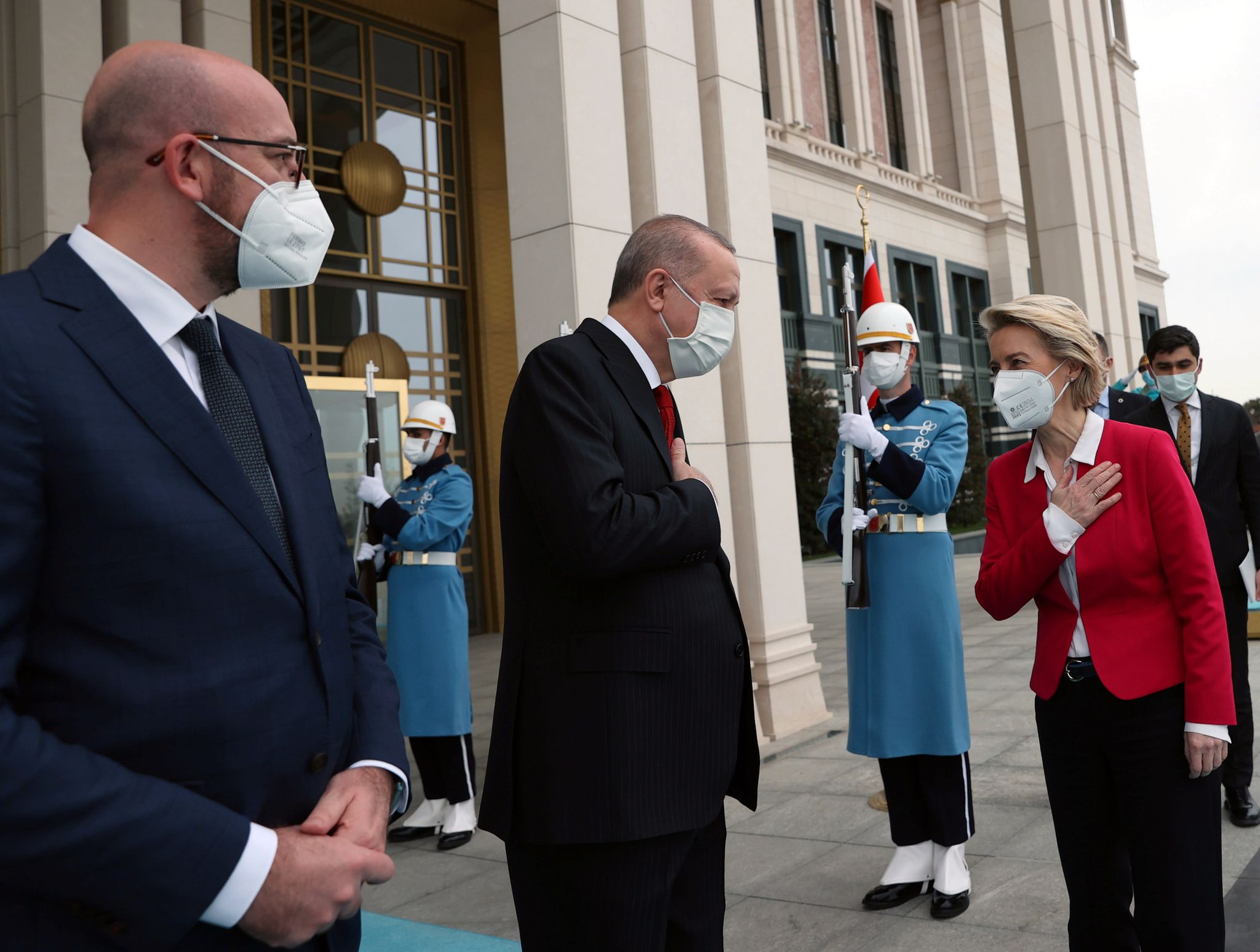No chair for the EU president when she visited Turkey - World Today News