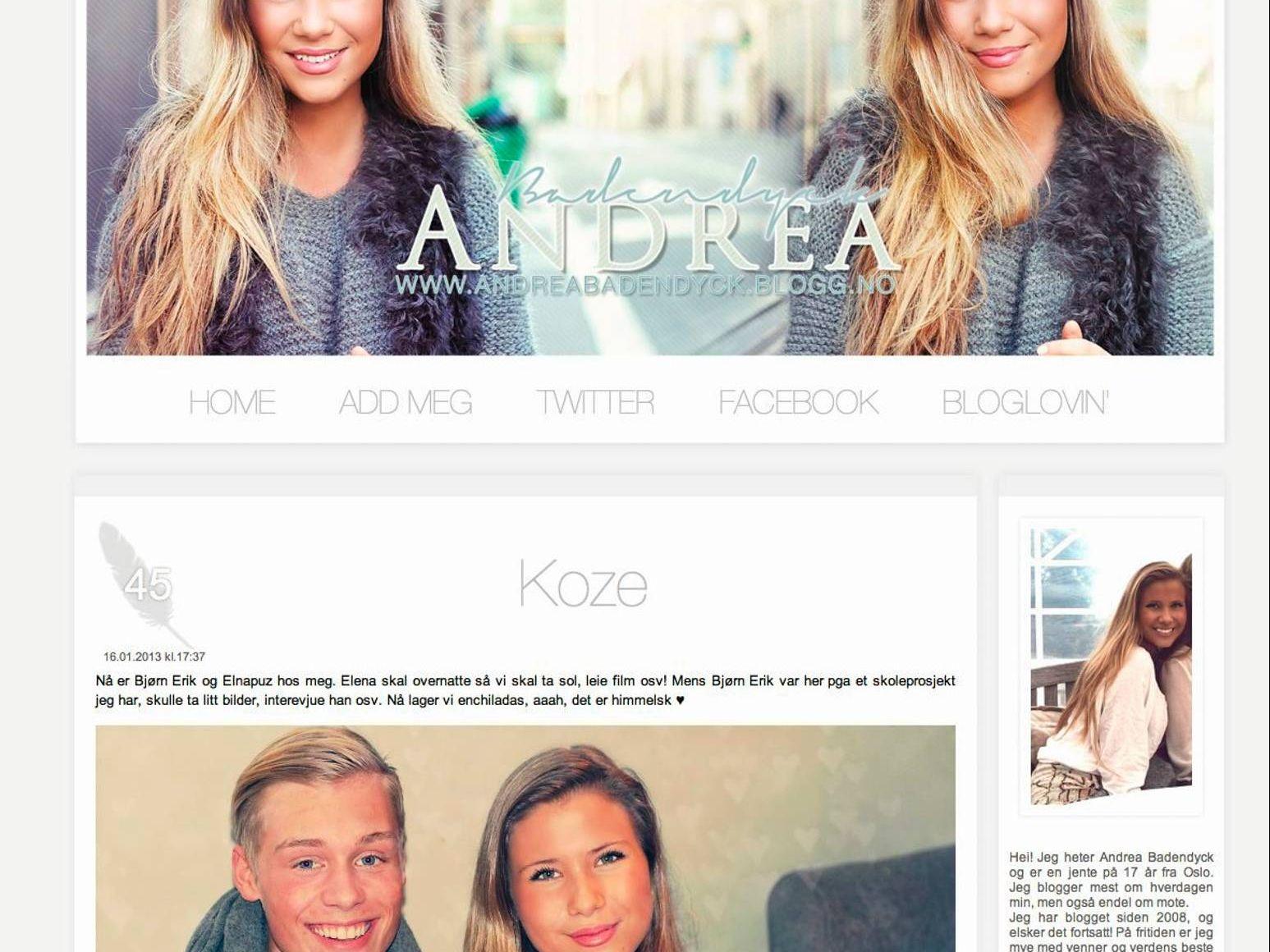 mars 2015 – Side 3 – Andrea Badendyck