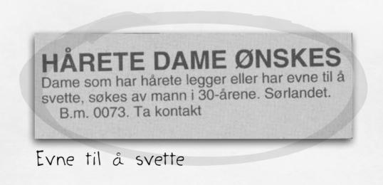 kontaktannonser i blad dating i nordland
