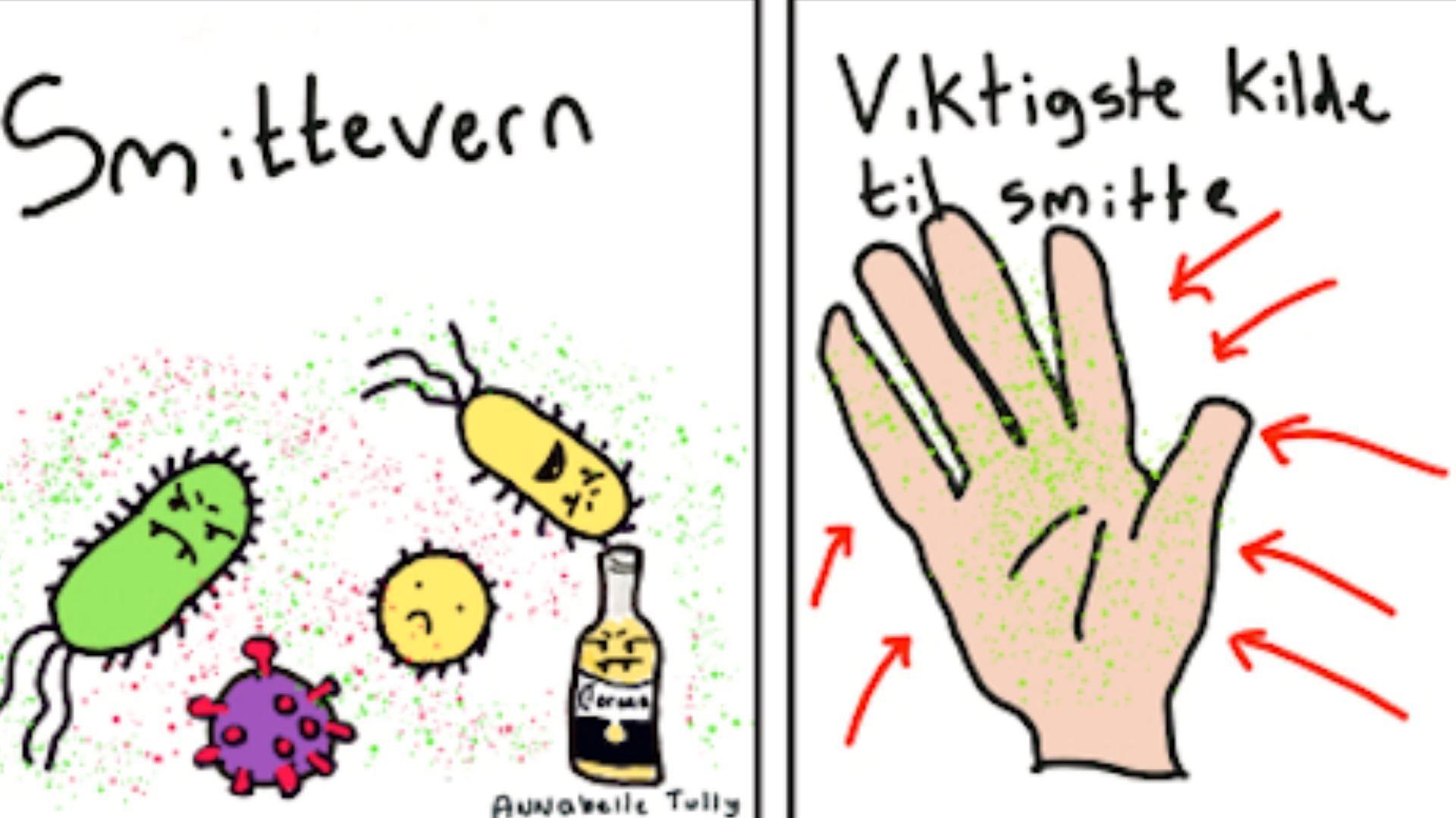 Coronavirus i Norge Derfor skal du ikke bruke antibac på