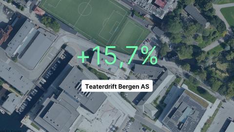 Teaterdrift Bergen AS har hatt røde tall i tre år på rad. I fjor snudde det endelig.
