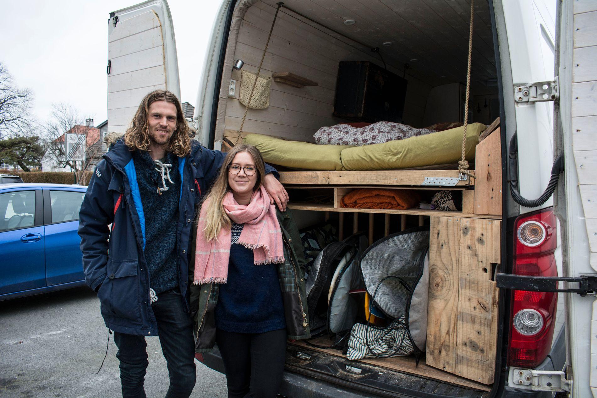 bygge om varebil til campingbil