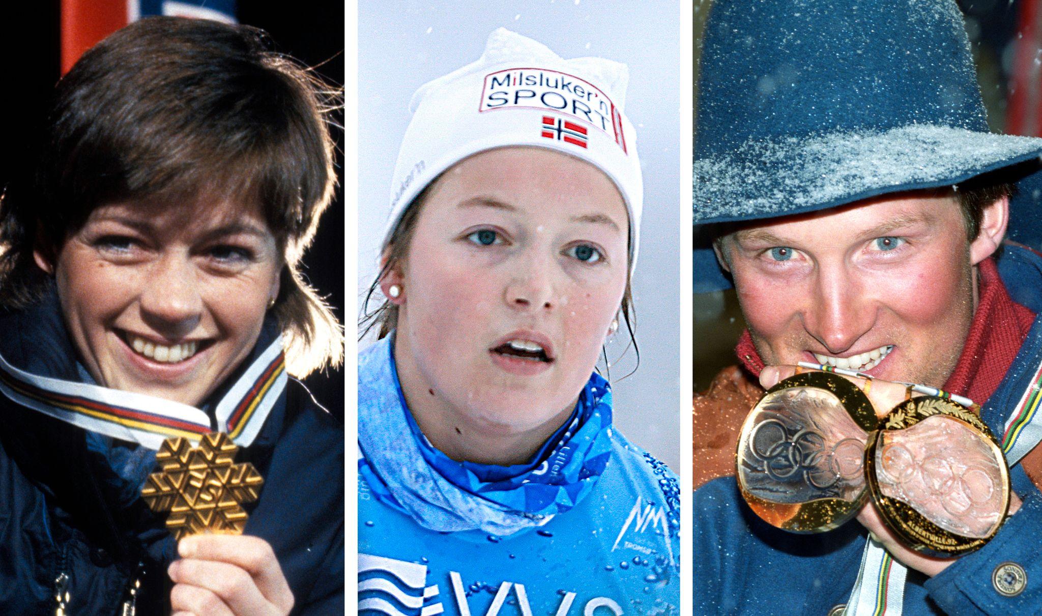 Foreldrene til Nora (17) har 22 OL- og VM-medaljer. Det