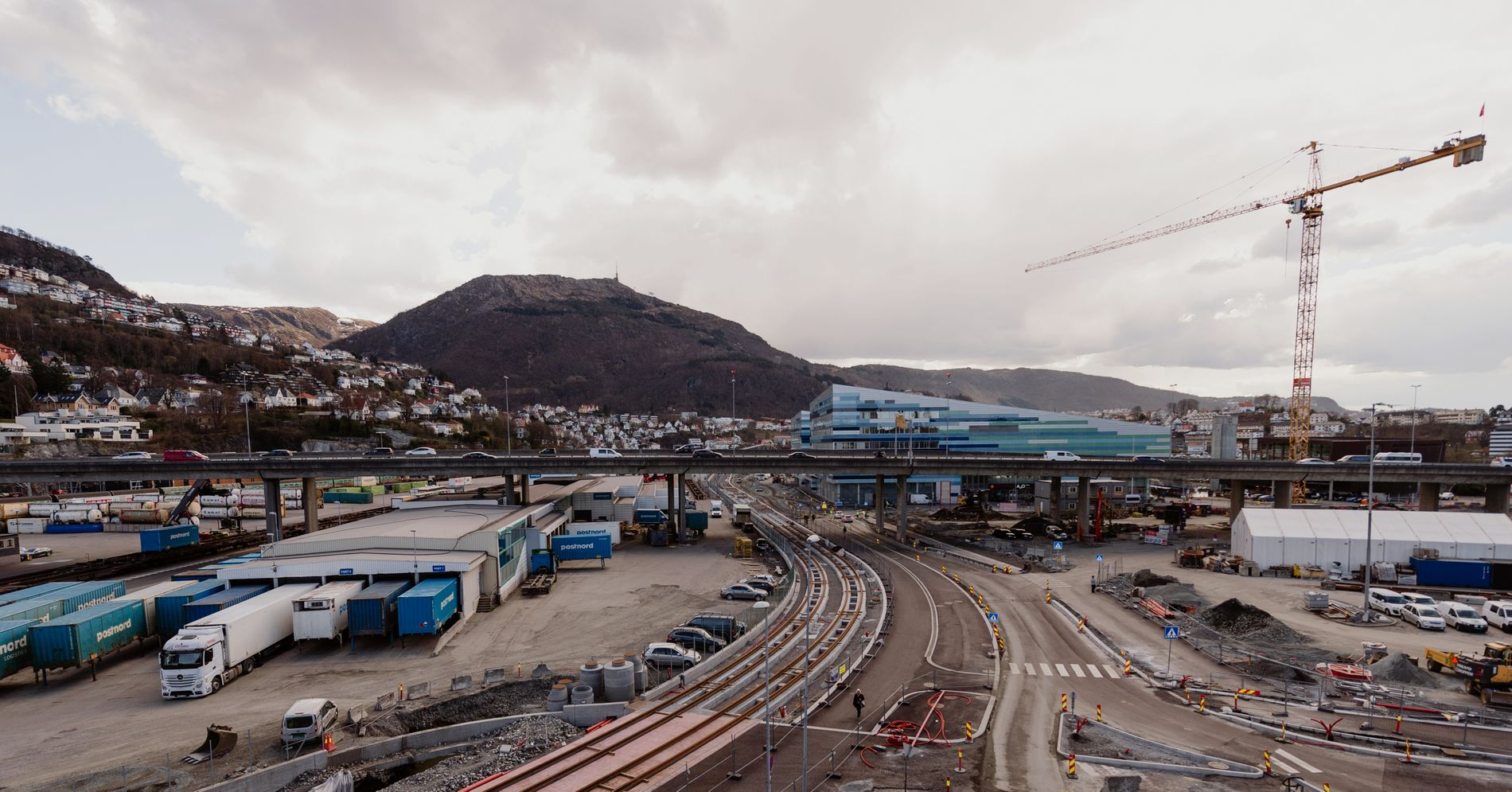 Bli med i Bybanens nye spor mot Møllendal