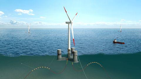 De er involvert i verdens største havvindmølle. Kraftig inntektshopp for Stord-selskapet.